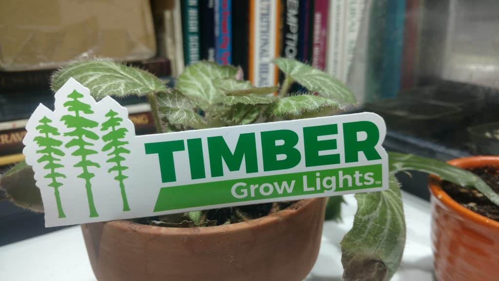We ordered our DIY COB LED as a kit from a small company called Timber Grow Lights.